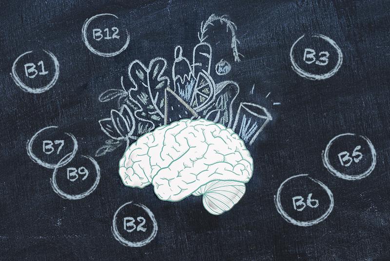 Complexo de Vitamina B, VRNs e a sua relação com o cérebro